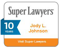Super Lawyers Jody L. Johnson