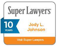 Super Lawyers Jody L. Johnson